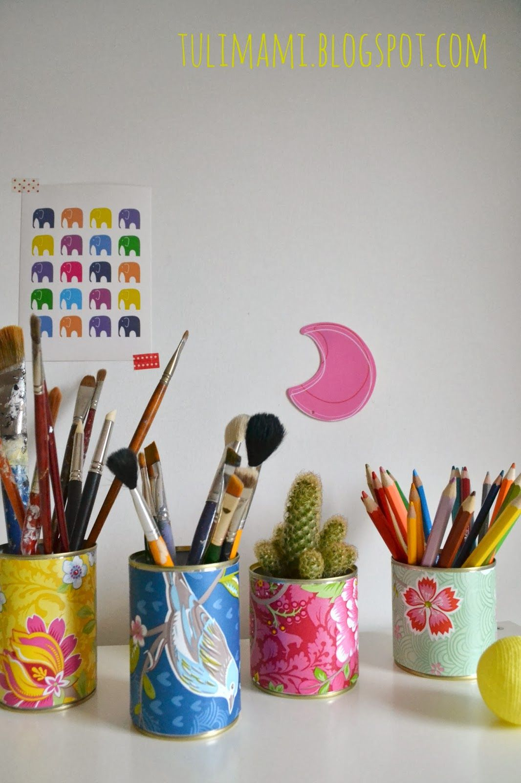 Wednesdiy Wallpaper And Cans Tulimami Tin Can Alley Pinterest