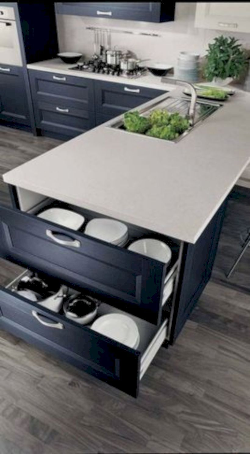 49 Simple But Innovative Kitchen Storage In Your House Best