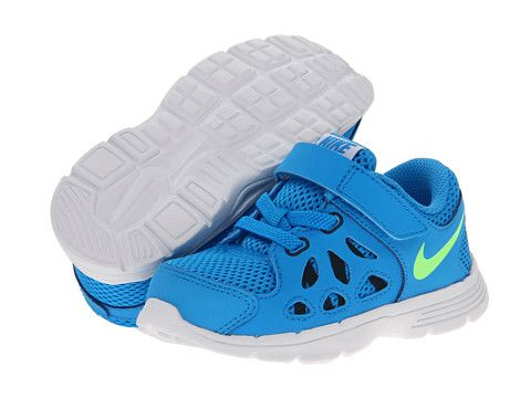 1dacb8ebfe15 Nike Kids Fusion Run 2 (Infant Toddler) Blue Hero Anthracite Black Flash  Lime - Zappos.com Free Shipping BOTH Ways