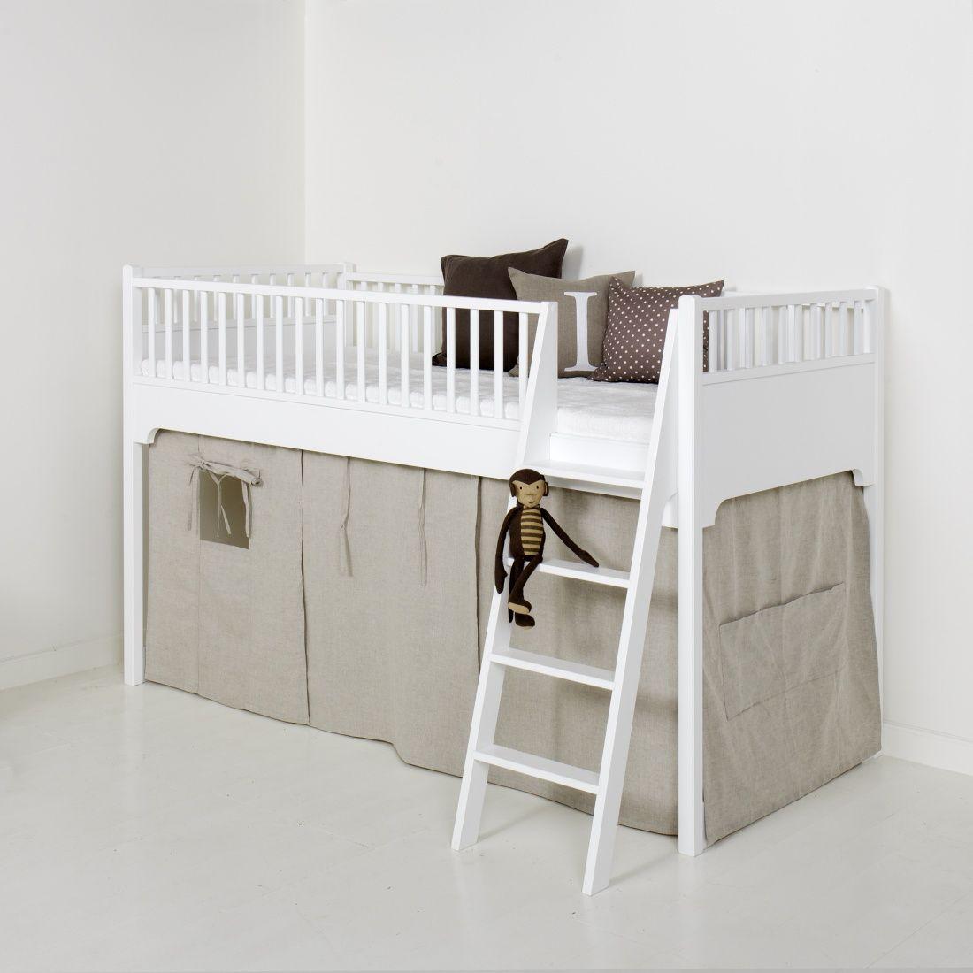 Rideau pour Lit mezzanine mi-hauteur Seaside | Deco | Pinterest