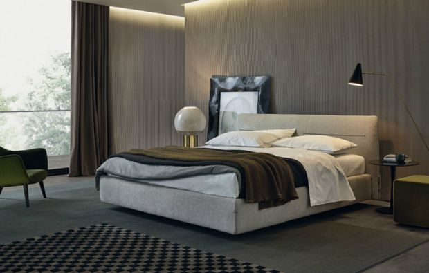 Beds poliform jacqueline 01 jean marie massaud 2011 - Letto poliform jacqueline ...