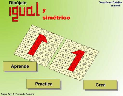 SIMETRÍA TRASLACIÓN Y ROTACIÓN XEOMETRÍA Simetria Traslacion geometria y Traslacion