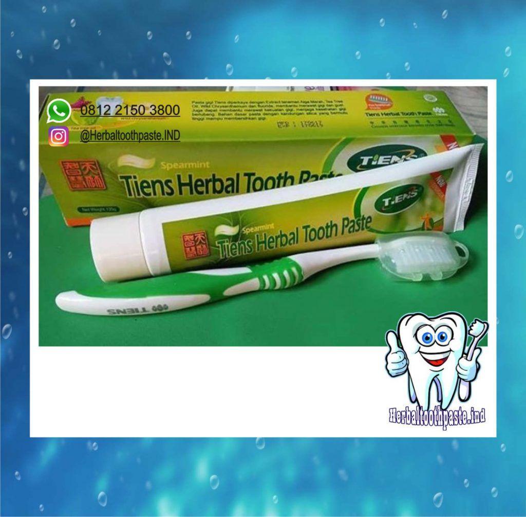 Tiens Herbal Tooth Paste 5 Merk Pasta Gigi Pemutih Terbaik Paling