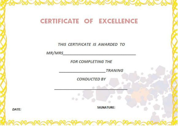 certificate_of_completion_blank_template Certificate of - building completion certificate sample
