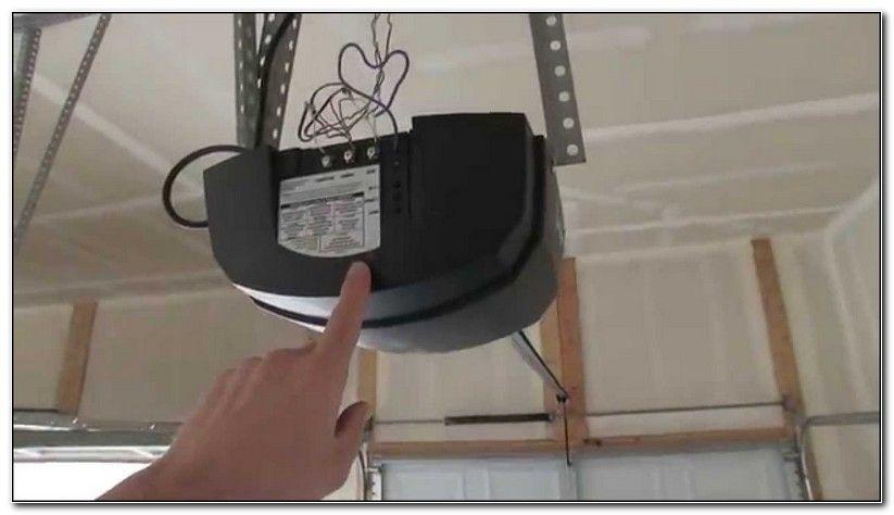 Linear Garage Door Opener Manual Garage Door Opener Troubleshooting Garage Doors Garage Door Opener