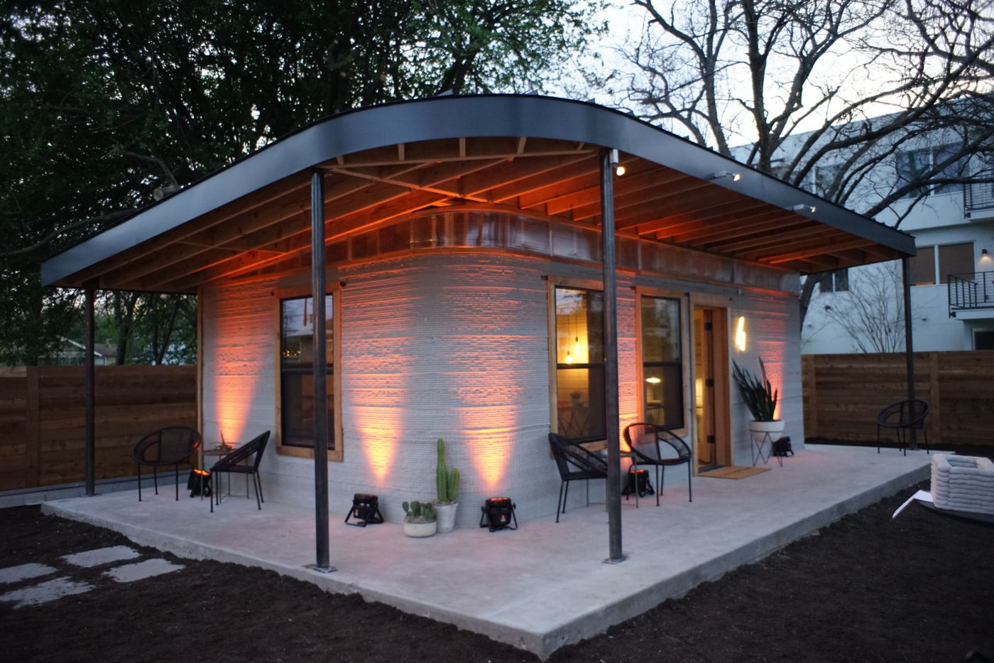 This Cheap 3d Printed Home Is A Start For The 1 Billion Who Lack Shelter 3d Printed House House Cost Concrete House