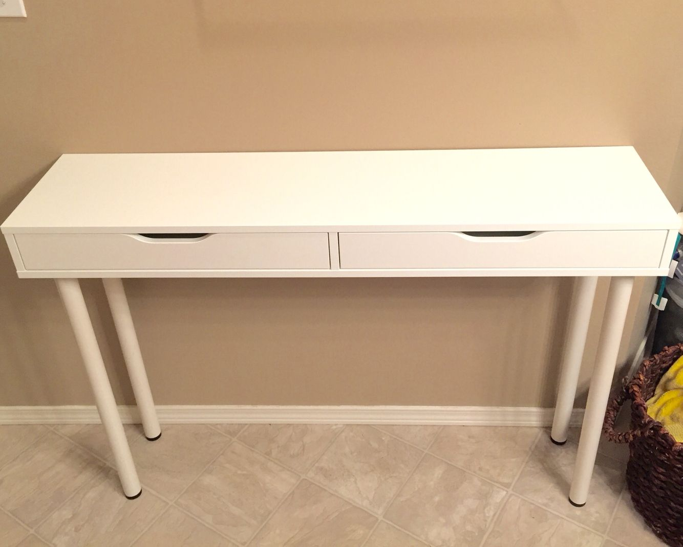 Pin By Lisa S On Vanity Inspo Ikea Furniture Hacks Furniture Hacks Ikea Dresser Hack