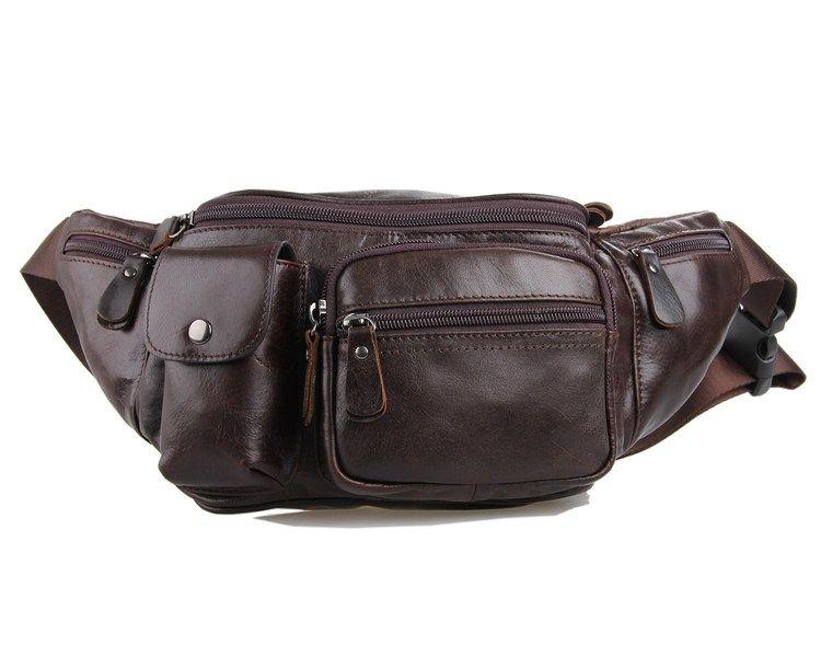 læder bæltetaske