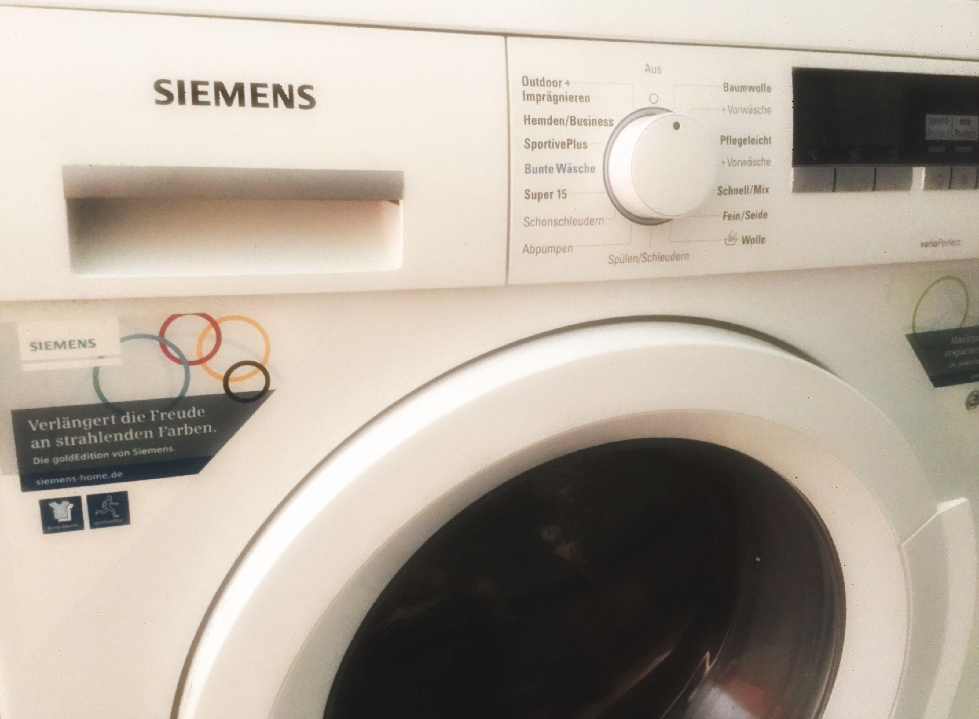 Wichtige Informationen über die Siemens Waschmaschine und