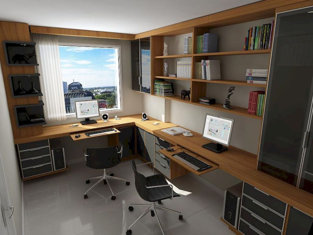 55 Modern Workspace Design Ideas Small Spaces 9 Home Office Design Small Home Offices Cheap Office Furniture