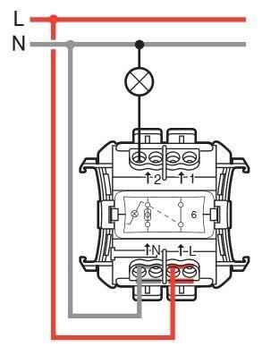 Soucis Branchement Interrupteur Legrand 69512 Avec Temoin Lumineux Interrupteur Legrand Interrupteur Electricite