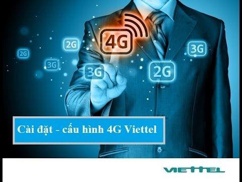 Cai Dat 4g Viettel điện Thoại
