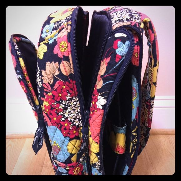 Vera Bradley backpack Back pack and lap top bag. Loved this but don't use it anymore. Has pocket just for laptop. Great used condition, looks brand new. Vera Bradley Bags Backpacks