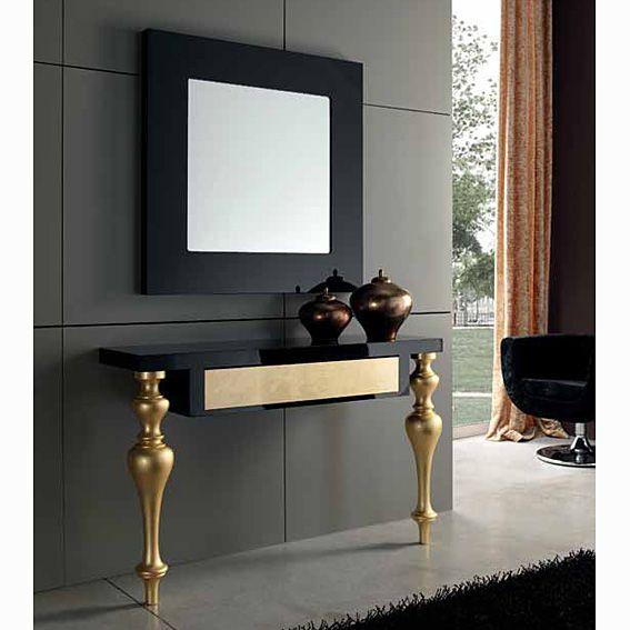 Consola moderna corfu muebles pinterest montajes - Consolas recibidor modernas ...