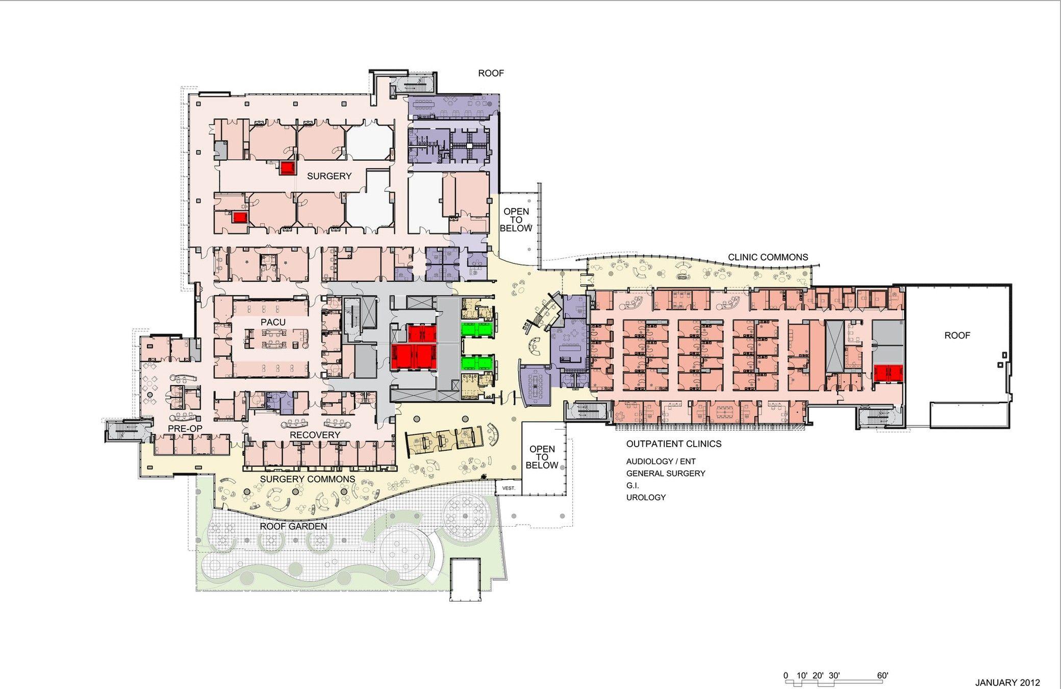 Nemours Children S Hospital Stanley Beaman Sears Arch2o Com Children Hospital Design Hospital Plans Hospital Architecture