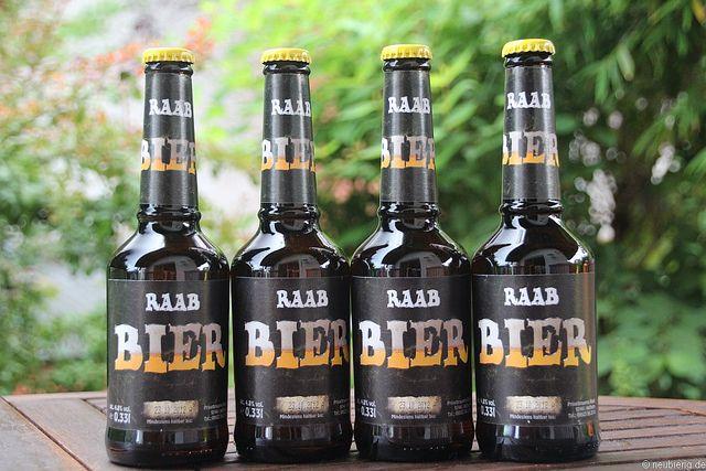 Kleines Bier der Brauerei Raab, via Flickr.