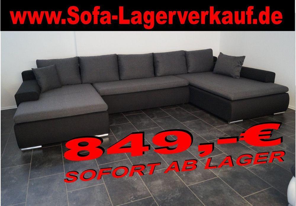 Sofa Lagerverkauf Wohnlandschaft Couch Polstermöbel Möbelhaus ...