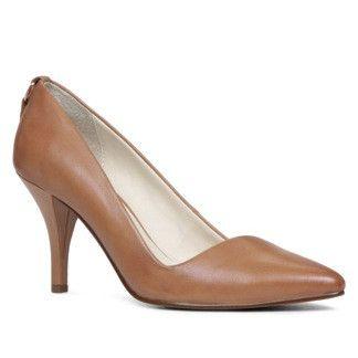 e43c8851e84 Cognac leather heels    Aldo NYDIVEN