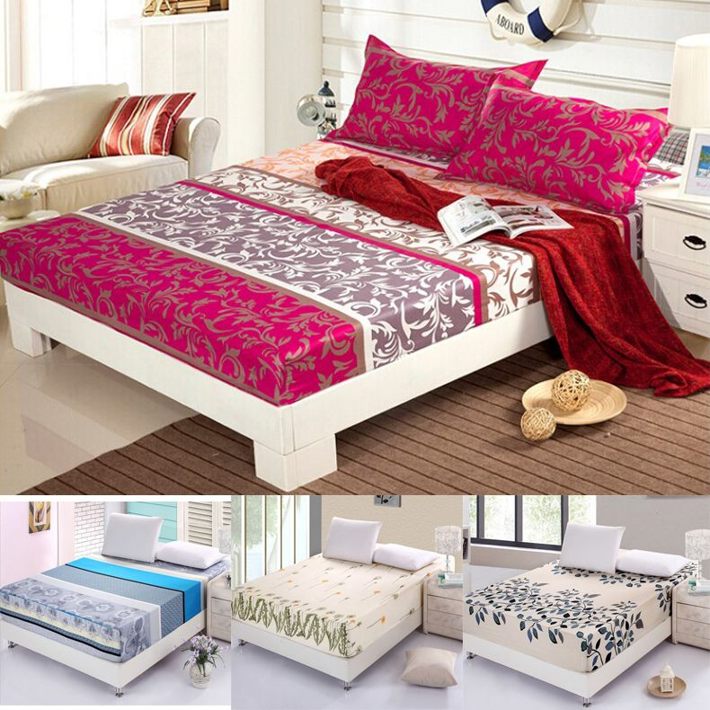 Find more bedspread information about hot 100 cotton for Sabanas para cama queen size