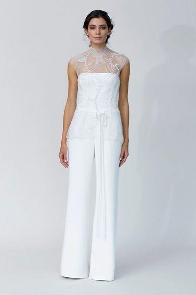 Bride Pantsuit Wedding Dress
