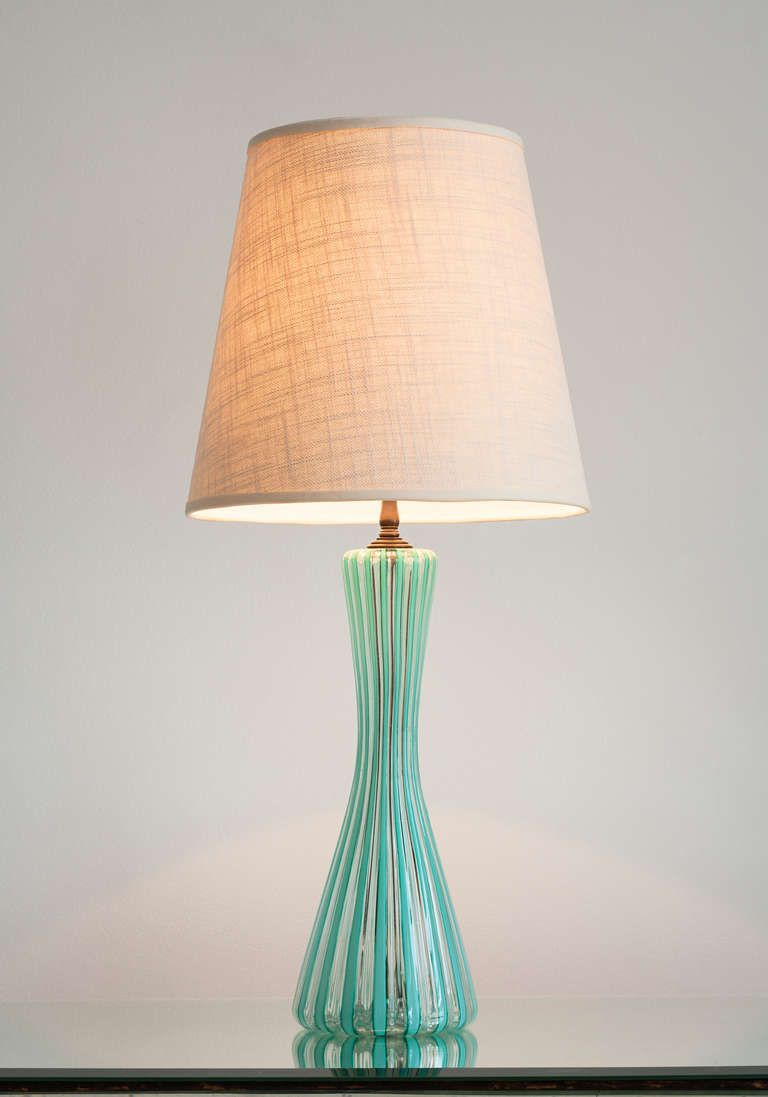 Venini Table Lamp From A Unique Collection Of Antique And Modern Table Lamps At Http Www 1stdibs Com Furniture Lighting Table Lamps Inspiratie