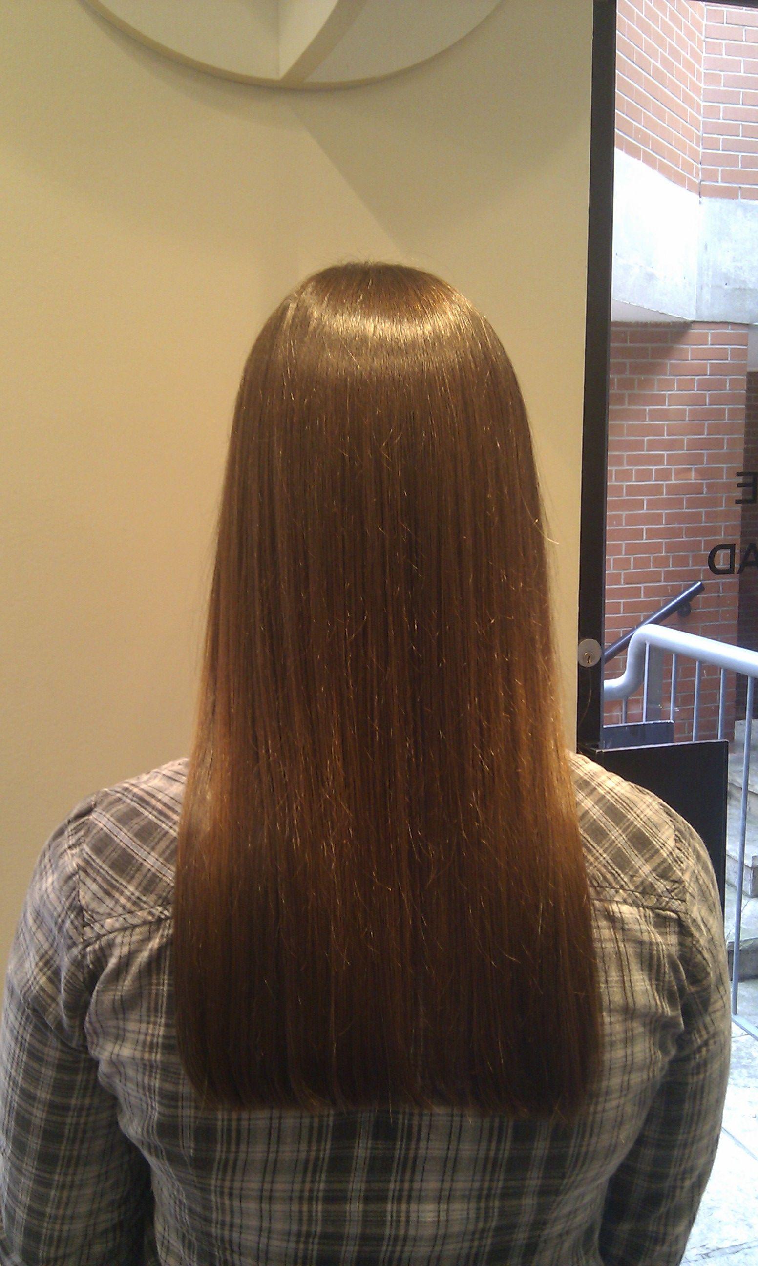 one length haircut.   aveda haircuts   long hair styles, one