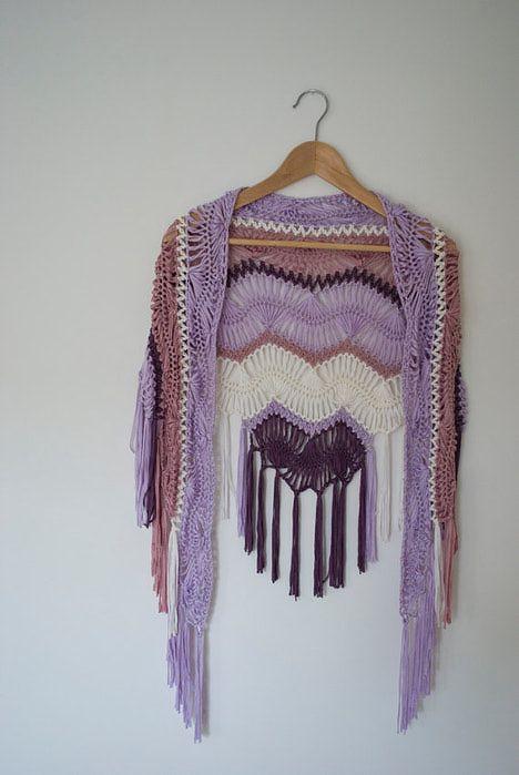 Maravillosa horquilla!!!! | Hairpin Lace/ Broomstick Lace Crochet ...