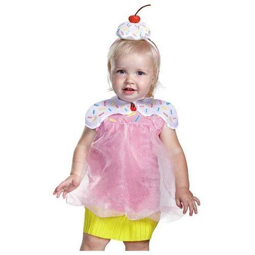 Rakuten - Girls Cupcake Halloween Infant Costume 12-18 Months - halloween costume ideas for infants
