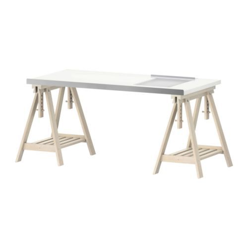 Vika Desk By Ikea, Light Table Included