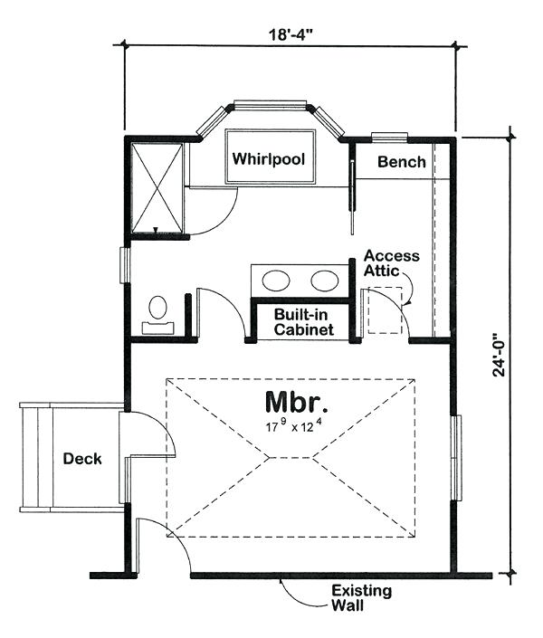 24 X 24 Master Bedroom Suite Google Search Master Bedroom Plans Bathroom Floor Plans Bedroom Addition Plans