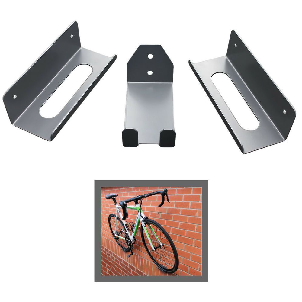 Bike Pedal Hook Wall Mount Bracket Hanger Tire Holder Storage Bicycle Rack USA