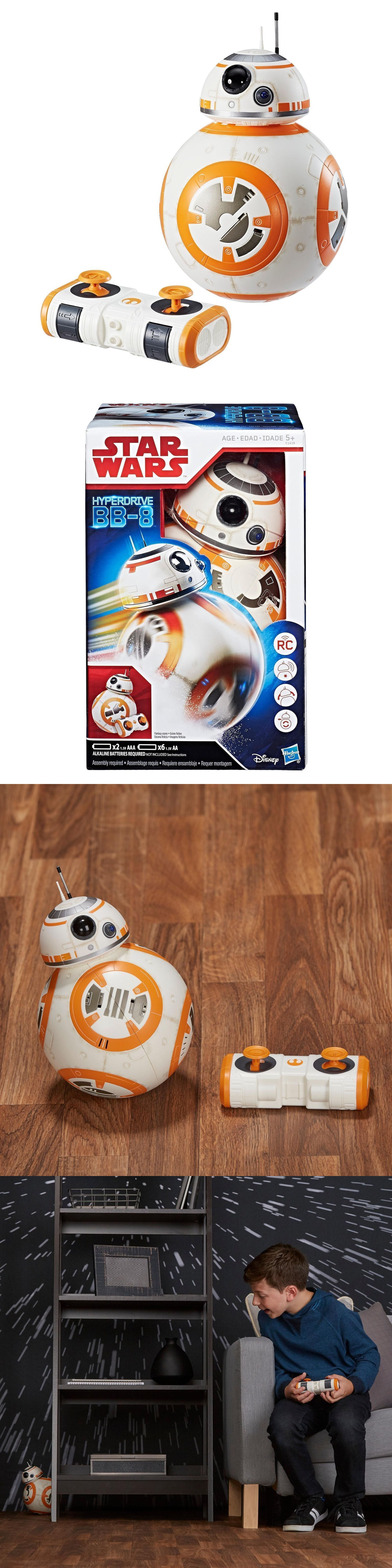 Star Wars BB-8 HYPERDRIVE Remote Control RC Toy Hasbro Disney BRAND NEW