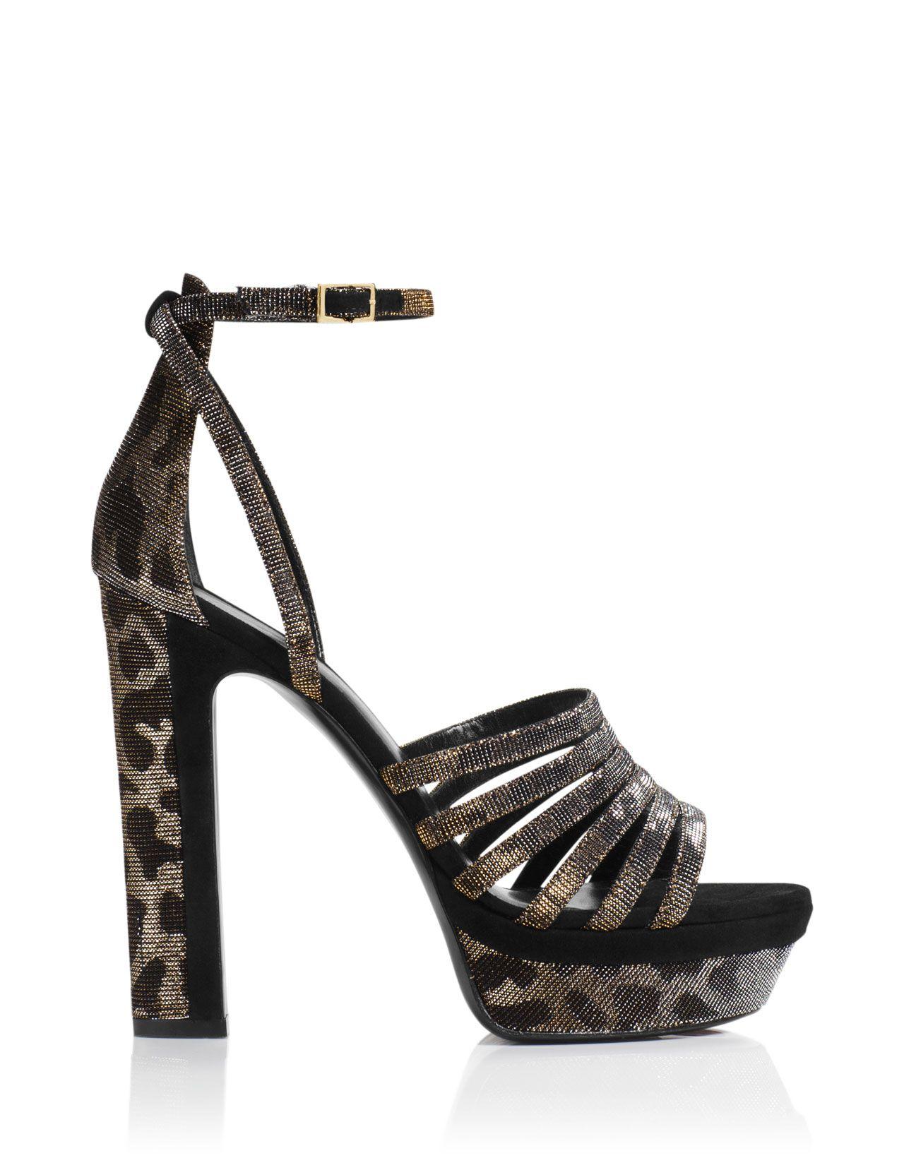 Tamara Mellon Leopard Sandal