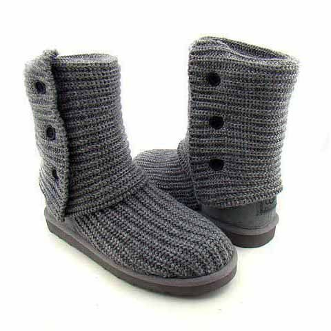 UGG Classic Cardy Boots 5819 Grey, FREE SHIPPING UGG Boots around the world, Kids