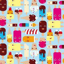 kawaii pattern - Buscar con Google