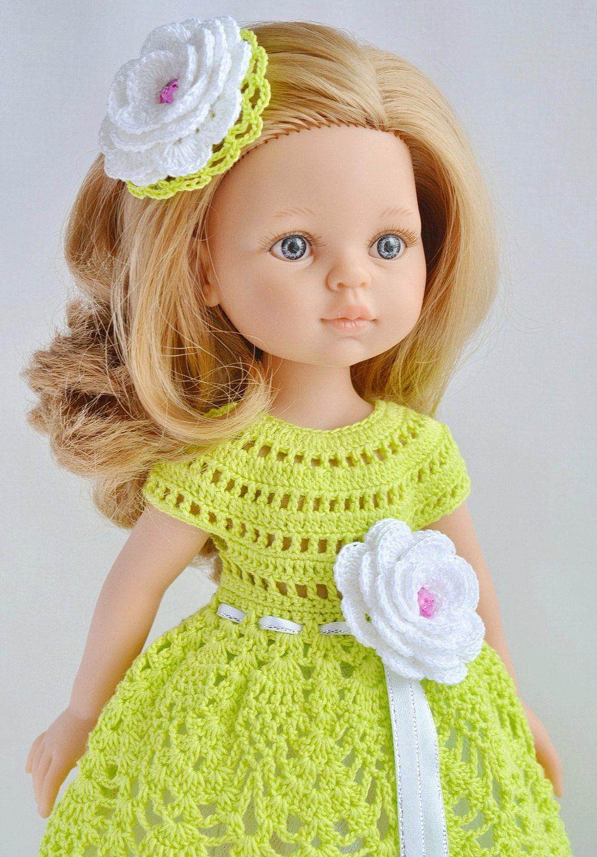 Испанские куклы Paola Reina   Crochet hats, Crochet, Dolls