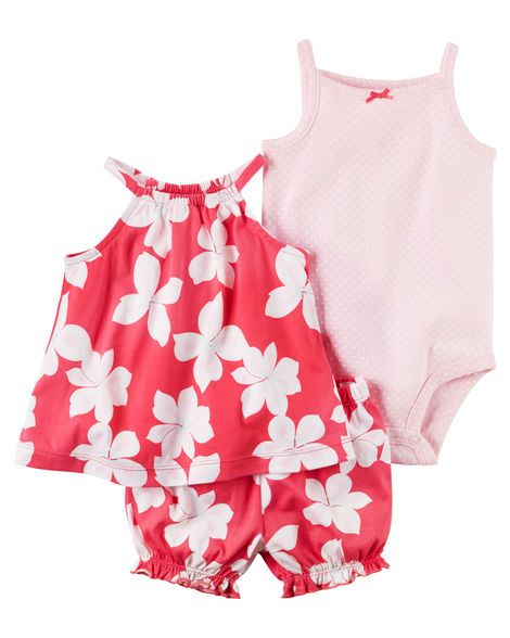b3fb16f4faf6 3-Piece Bubble Short Set