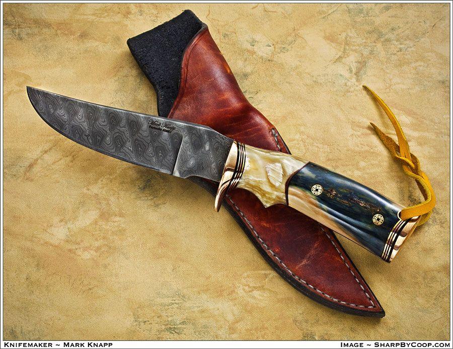Custom Fixed Blades And Folders Mark Knapp Custom Knives