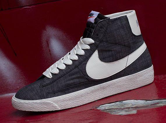 Nike Blazer Mi Prm Formateurs En Toile Vntg