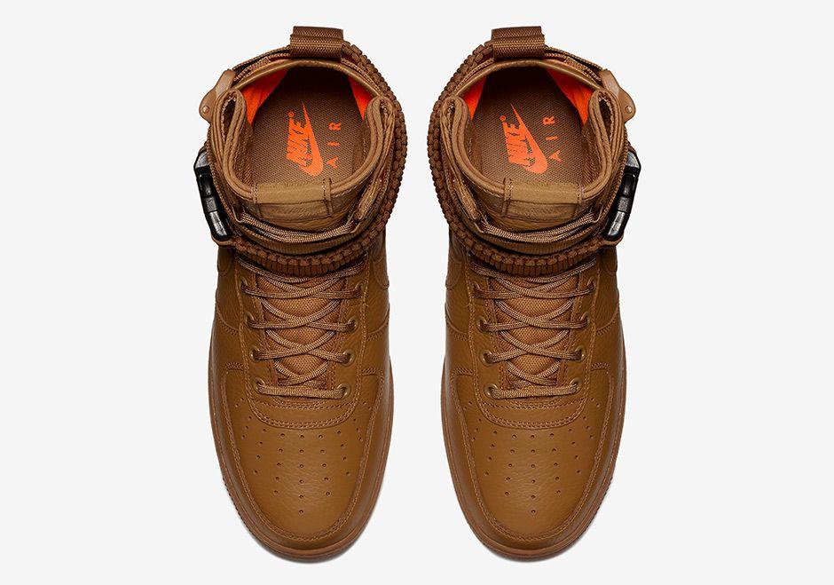 Nike SF AF1 High Desert Ochre Total Orange 903270 778