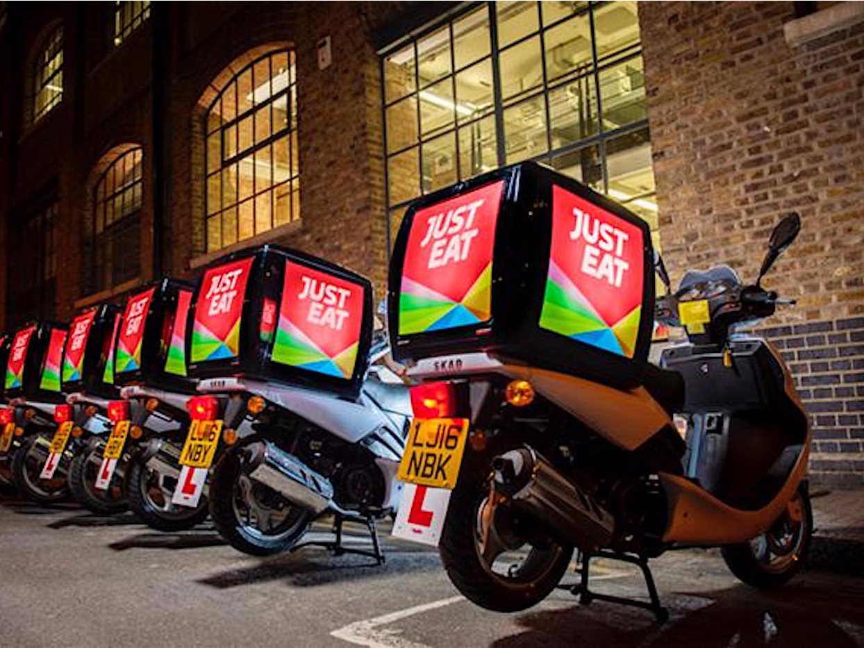 Just Eat Is Teaming Up With Restaurants To Take On Deliveroo And