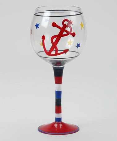 Anchor Wine Glass