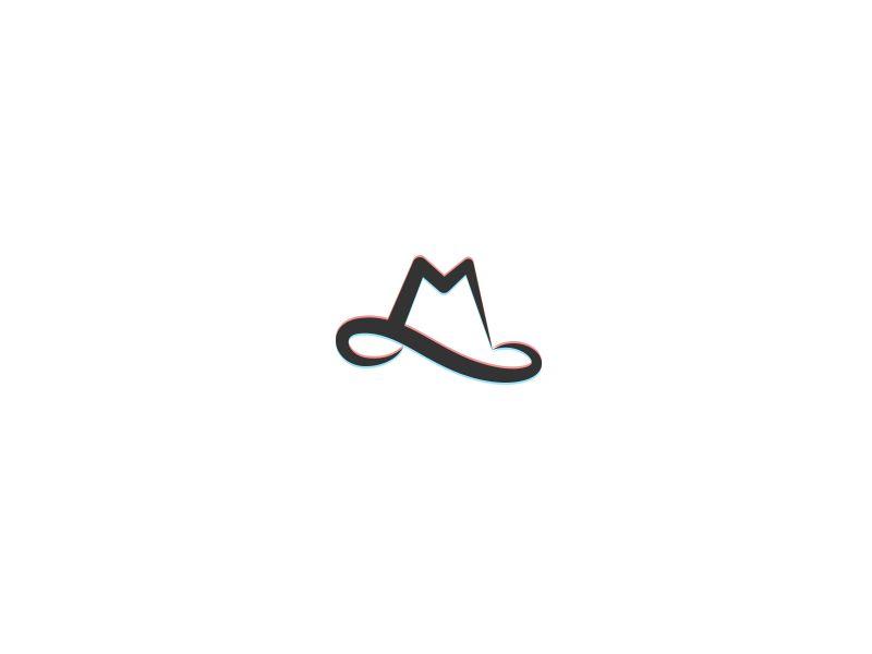 M Hat Logo For Millennium Hats Wip Logo Design Ms Logo Logo Design Inspiration