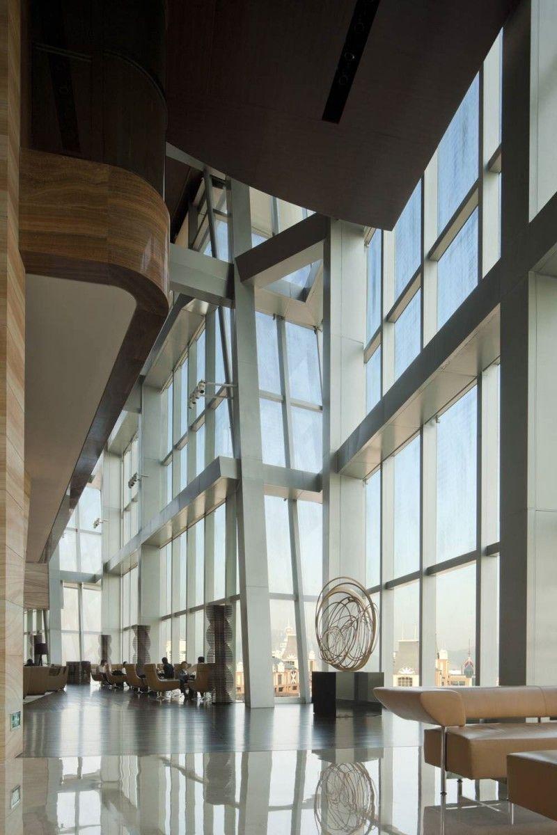Grand Hyatt Shenzhen, China by RTKL Architects, Interior by Willson Associates