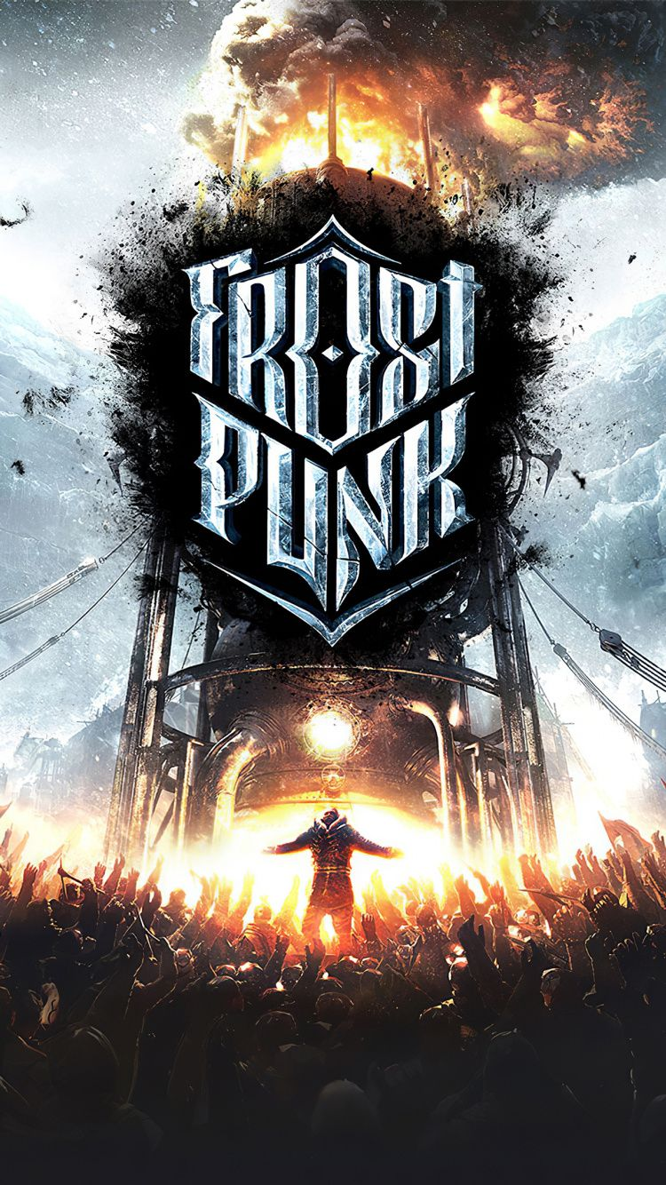 750x1334 Frostpunk, video game, 2019 wallpaper Survival