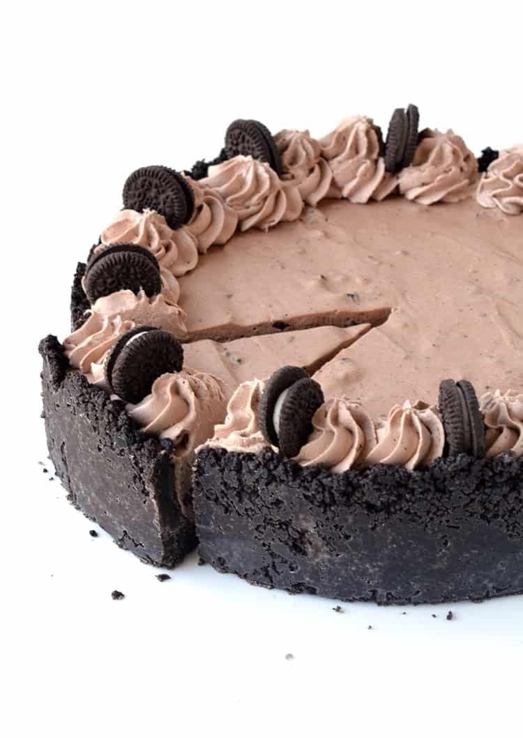 Chocolate Oreo Ice Cream Pie Recipe Oreo Ice Cream Homemade Chocolate Ice Cream Best Chocolate Desserts