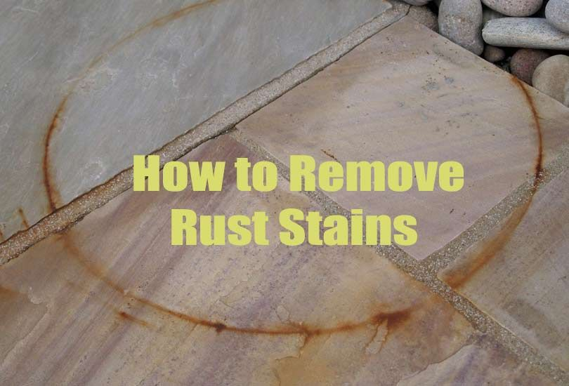 19 Superb Home Remedies For Removing Stubborn Rust Stain Marks