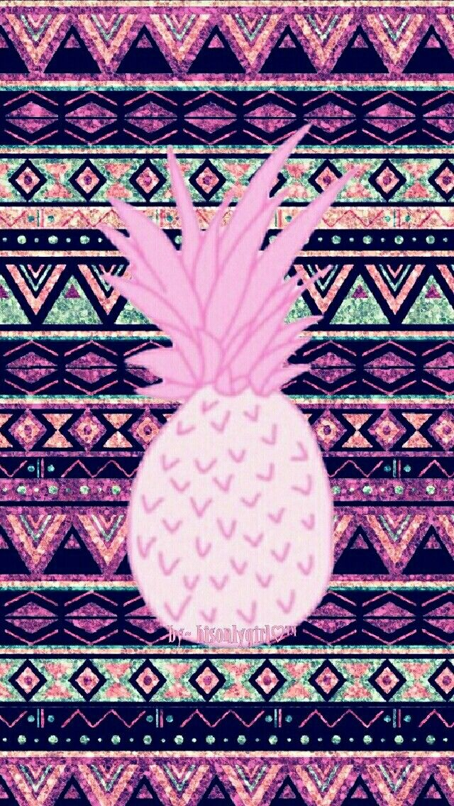 Pineapple Tribal Galaxy Wallpaper I Created For The App CocoPPa
