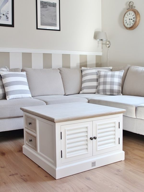 Photo of Weiße Möbel im Landhausstil mit Rattan Details günstig online kaufen | Landhausmöbel