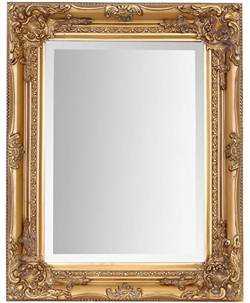 Select Mirrors Rhone Wall Mirror, Gold Baroque Mirrors Uk
